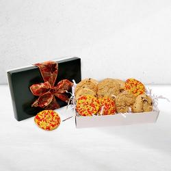 Fall themed cookie gift box
