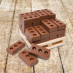 Cube of Chocolate Bricks
