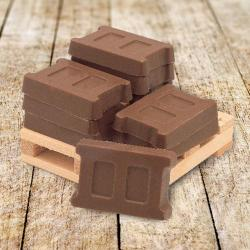 Cube of Chocolate Blocks