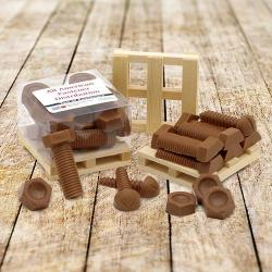 Cube of Chocolate Fasteners