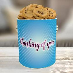 Thinking of You Cookie Gift Gallon