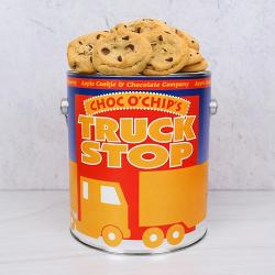 Truck Stop Cookie Tin