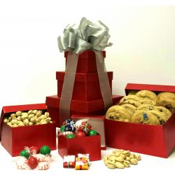 3 Tier Gift Boxes of Snacks