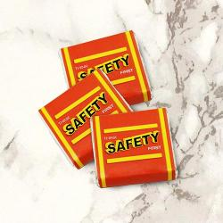 Think Safety Chocolate 100 Pack