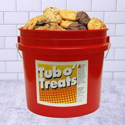 Tub o' Treats Cookie Basket