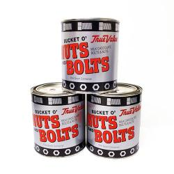 True Value Branded Nuts and Bolts Chocolate Tin