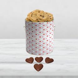 *SPECIAL* Hearts of Love Gallon w/ 4 Chocolate Hearts
