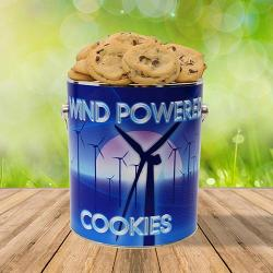 Wind Powered Cookie Tin