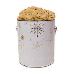 Winter Snowflake Gallon of Cookies