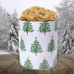 Christmas Tree Cookie Gift Gallon